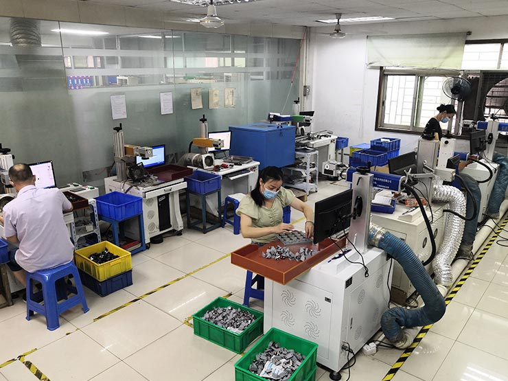 Laser printing department