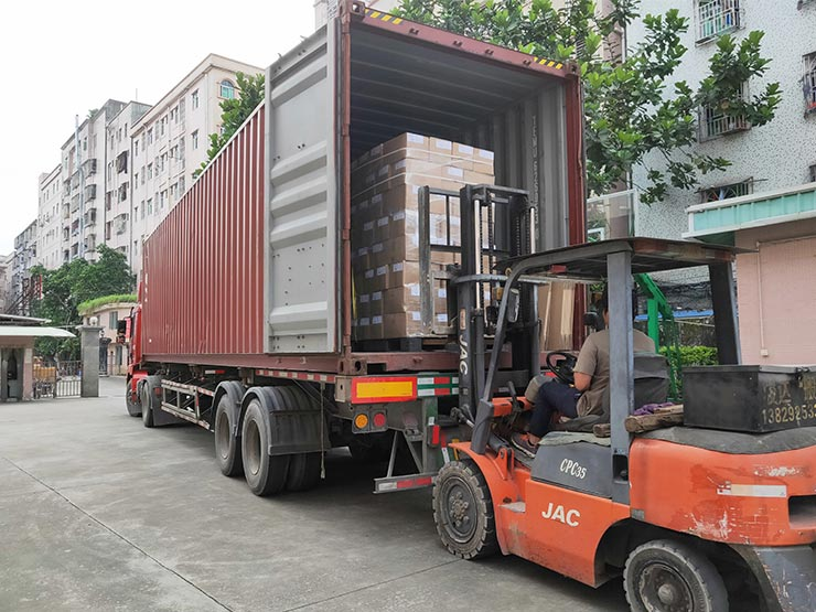 Import and Export container loading