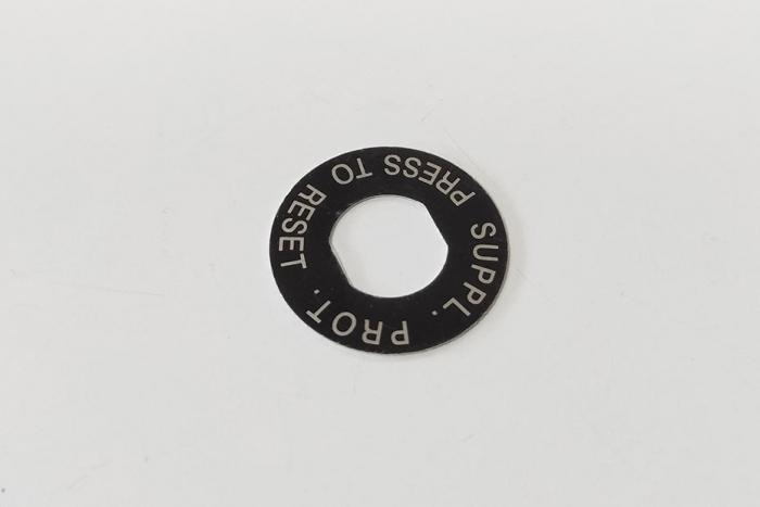 Nameplate of circuit breaker