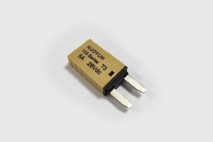 103 series| 5 amp auto reset circuit breaker
