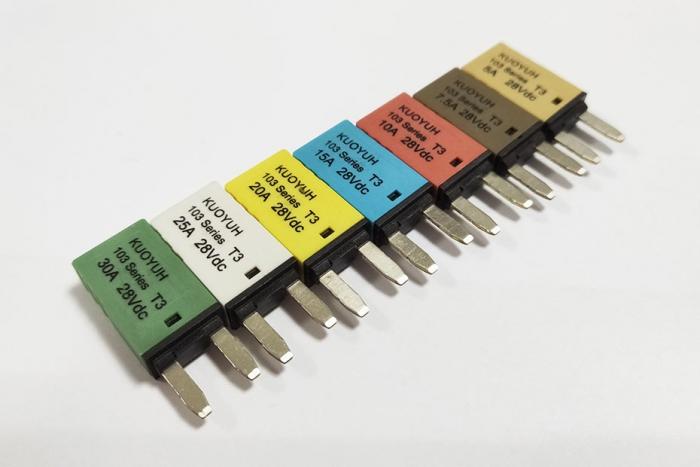103 Series auto reset circuit breakers