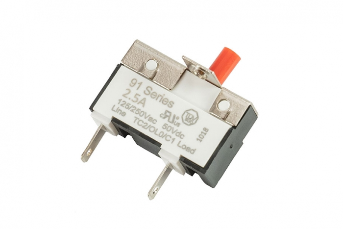 91 Series 2.5 AMP Button Circuit Breakers