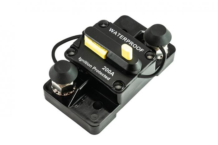 200 Amp Push Button Breaker - 16F Series