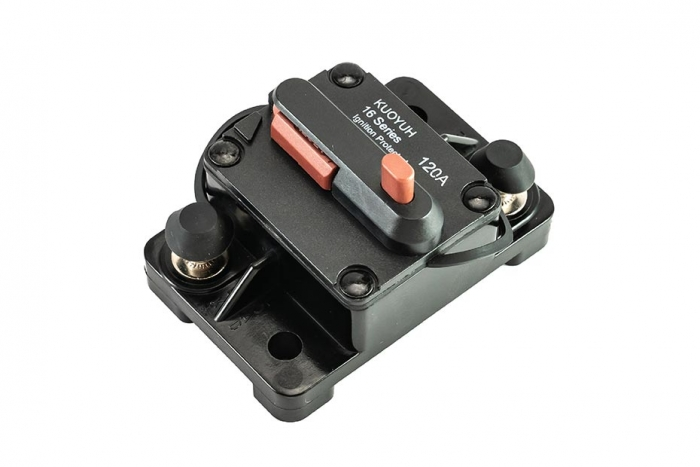 16F Series of 120 Amp Push Button Breaker