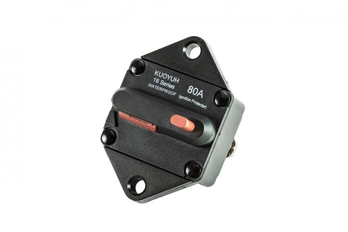 16P Series Push-To-Reset Circuit Breaker