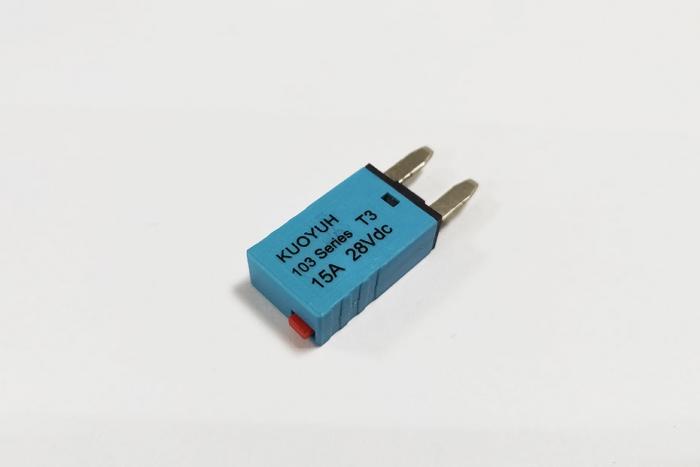 103 Series Push-To-Reset Circuit Breaker